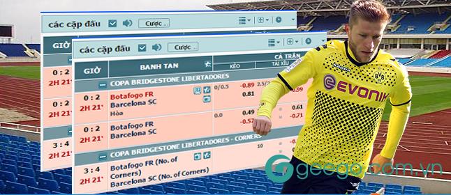 So sánh cá độ bóng đá qua mạng và cá độ trực tiếp
