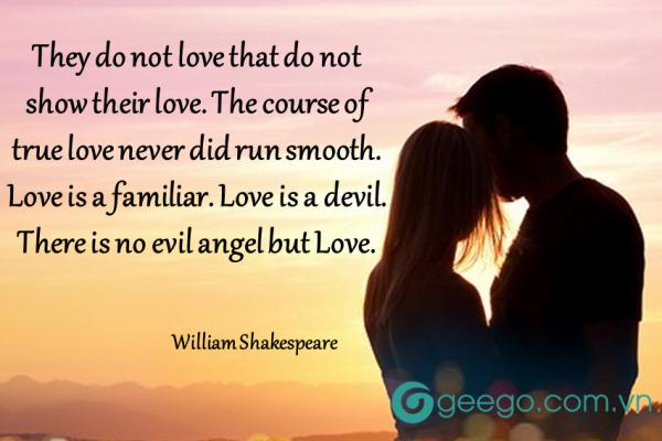 thơ tình yêu bằng tiếng Anh